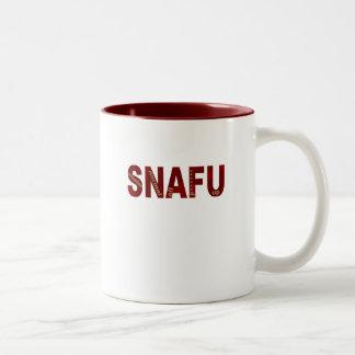 SNAFU Two-Tone COFFEE MUG