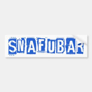 Snafubar Bumper Sticker
