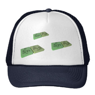 Snag as Sn Tin and Ag Silver Trucker Hat
