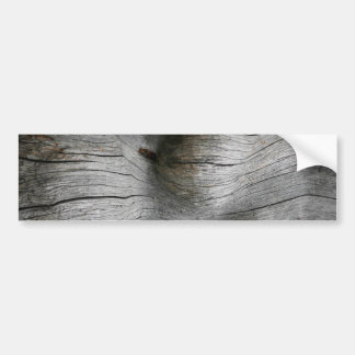 Snag wood texture background bumper stickers