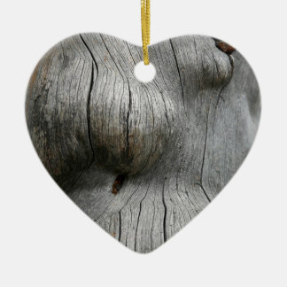 Snag wood texture background ornaments