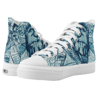 SNAGGLE CITY High-Top SNEAKERS