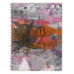 Snaggle el diario del pulpo spiral notebooks