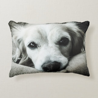 """Snaggle Snuggle Cotton Accent Pillow 16"""" x 12"""""""