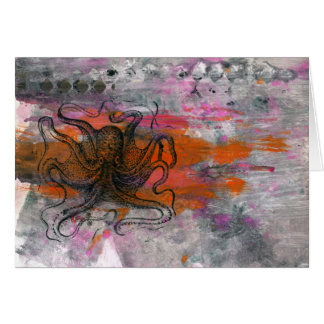 Snaggle the Octopus Note Cards