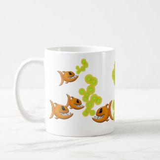 Snaggle Tooth Fish Mug