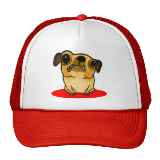 Snaggle Tooth Pug Trucker Hat