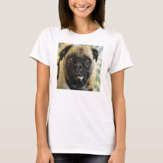Snaggle Toothed Pug T-Shirt