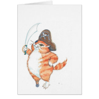 SnaggleToothTom...The Ginger Pirate... Card