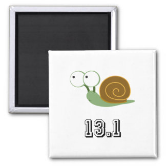 Snail 13.1 (half marathon) magnets