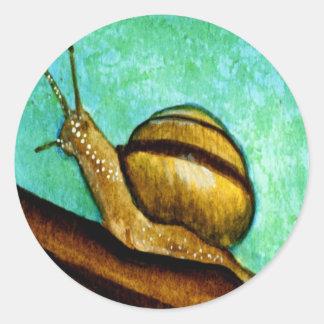Snail 1 Sticker Sheet