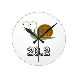 Snail 26.2 (marathon) round clock