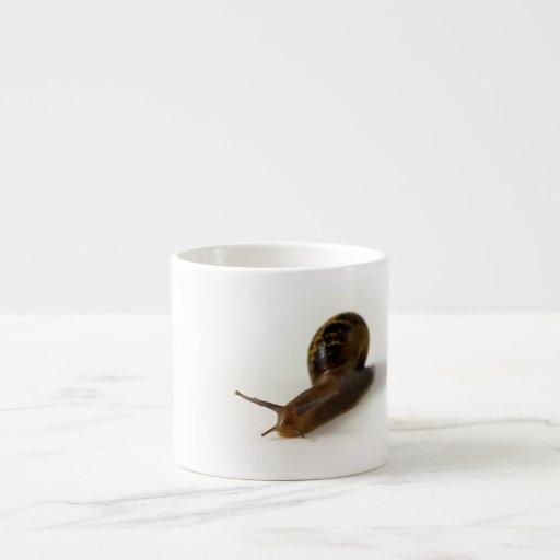 Snail 6 Oz Ceramic Espresso Cup