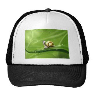 snail-83672 snail drops rain drawing ill trucker hat