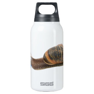 Snail and flowers 10 oz insulated SIGG thermos water bottle