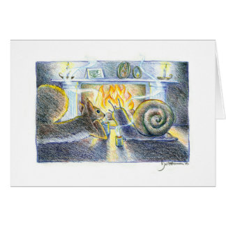 Snail and Squirrel II card