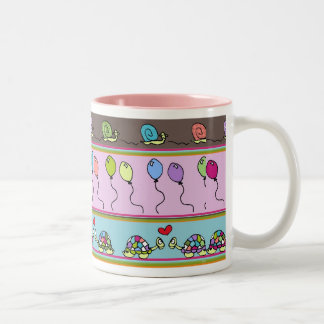 Snail and Turtle Mug