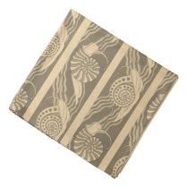 Snail Animal Shells Pattern Print Bandana