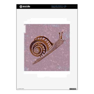 Snail Art iPad 2 Skins