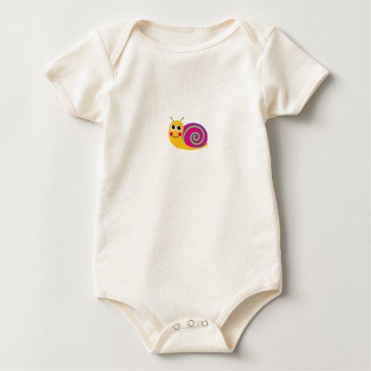 Snail Baby Bodysuit