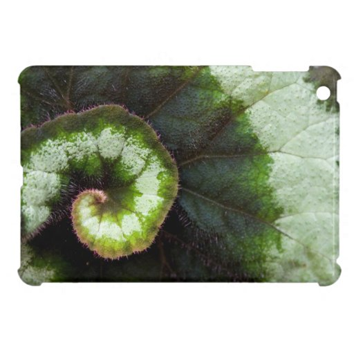 Snail Begonia Leaf Cover For The iPad Mini