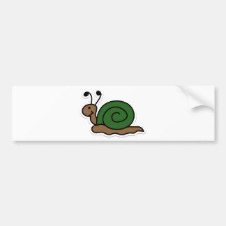 snail bumper sticker