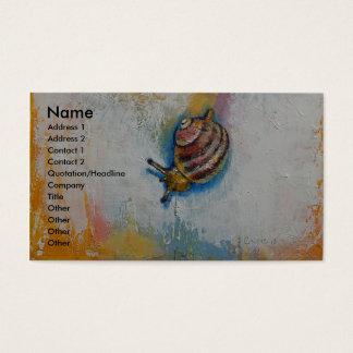 Snail Business Card