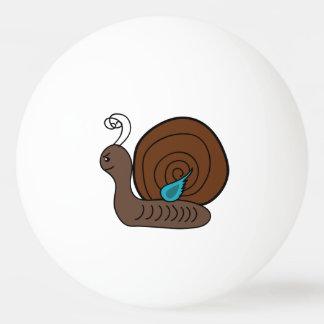 Snail cartoon ping pong ball