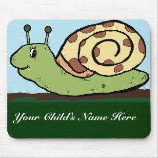 snail child's mousepad