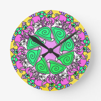 SNAIL CLOCK colorful clock