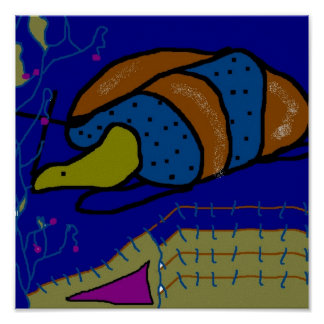 Snail Cocoon Poster