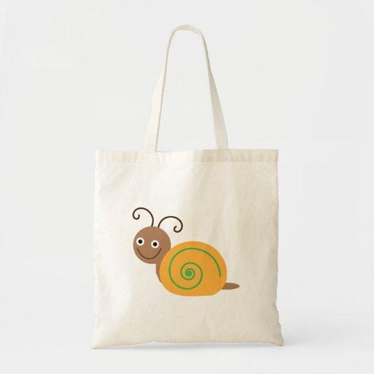 Snail cute little cartoon tote bag gift idea