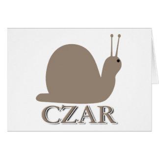 Snail Czar Card