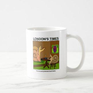 Snail Darter Funny Cartoon Gifts & Tees Coffee Mug