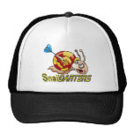 snail darters cap mesh hat