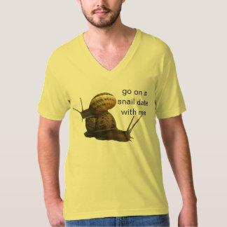 snail date shirt