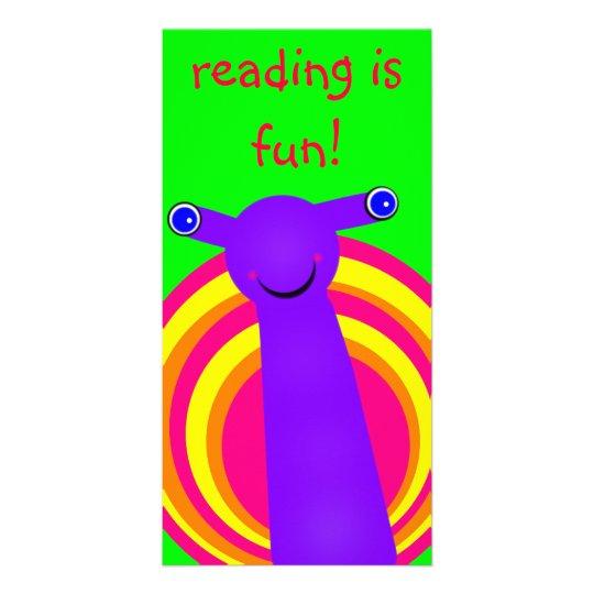 Snail Designed Book Mark Card
