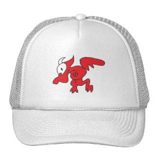 Snail Dragon Trucker Hat