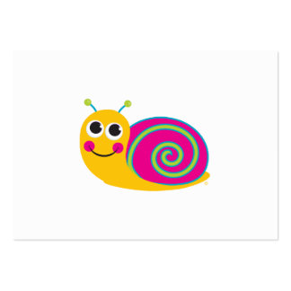 Snail Enclosure Card Large Business Card