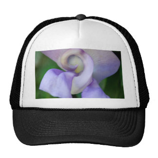 Snail Flower Trucker Hat