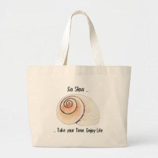 Snail Go Slow Bag