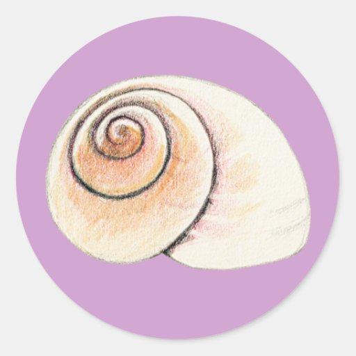 Snail Go Slow Sticker