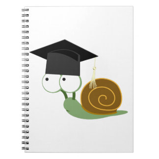 Snail Graduate 20XX Spiral Note Book