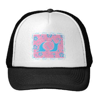 Snail Harbor Softball Mesh Hat