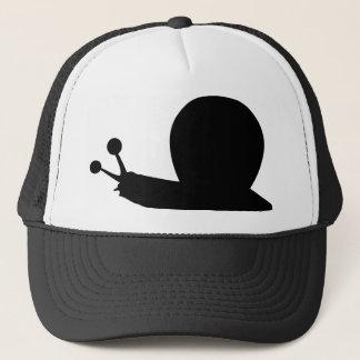 snail icon trucker hat