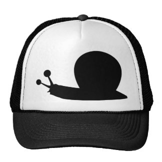 snail icon trucker hat