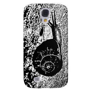 Snail in Black and White Samsung S4 Case