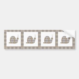 SNAIL insect CRYSTAL Jewel NVN451 KIDS LARGE fun Bumper Sticker