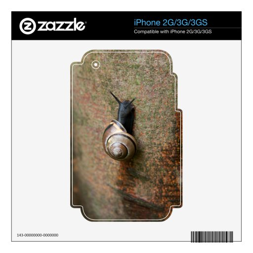 Snail iPhone 2G/3G/3GS skin Skin For The iPhone 3