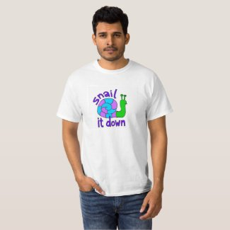 Snail it Down T-shirt